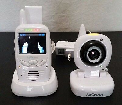 Levana Wireless Video Camera Baby Monitor With Audio - Home Business Monitor V
