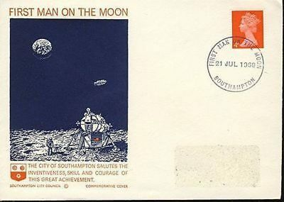 1969 First Man on the Moon Southampton City Council Commemorative Cover  1185