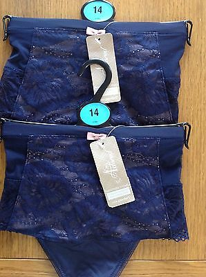 Parisienne Thongs Size 14 M&s Adored 2 Pair Nightshade Colour Ultimate Comfort