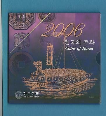 Bank of Korea 2006 Uncirculated coin set
