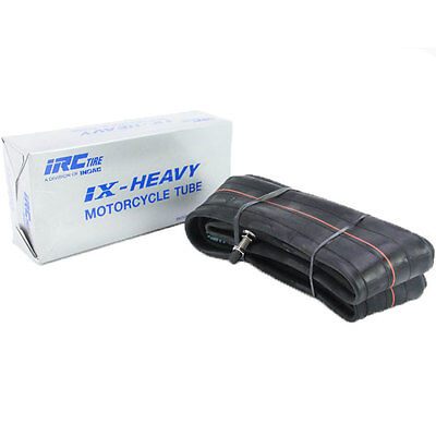 IRC Heavy Duty 100/90-19 110/80-19 Inner Tire Tube Motorcycle Straight Valve TR4