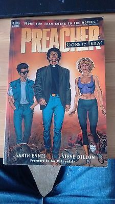 DC Vertigo Preacher Gone to Texas Volume 1 Graphic Novel Good Condition 1996