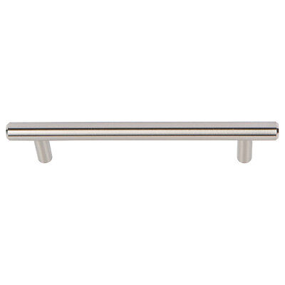 Brushed Nickel Bar Handles Kitchen Cabinet Handle Drawer Pull 3 3/4 CC