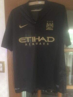 Manchester City Away Top Excellent Condition
