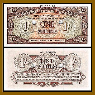 Great Britain (British Armed Forces) 1 Shilling, 1962 P-M32b Fourth Series Unc