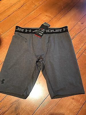 "Under Armour Heatgear Men's Compression Shorts 9"" (L)"
