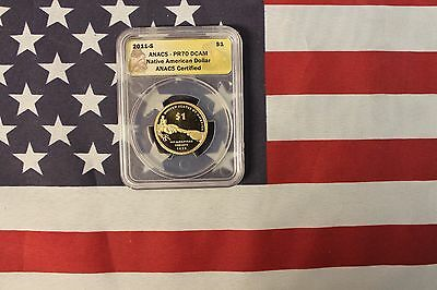 2011-S PR70DCAM Sacagawea Dollar - Graded by ANACS - Native American