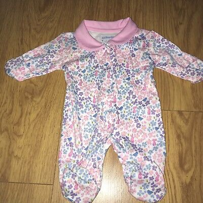 Jojo Maman Bebe Newborn Sleep Suit Brand New!!