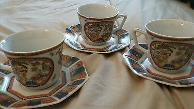 6pc Lenwile Ardalt Hand Painted China from Japan
