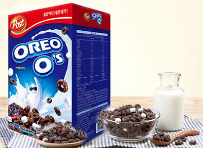 POST Oreo O's Cereal with Marshmallow 8.8oz (250g) free shipping from korea