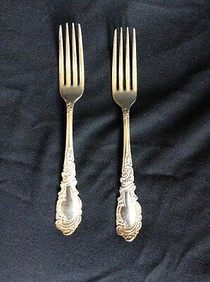 Rogers And Hamilton Aldine Dinner Forks