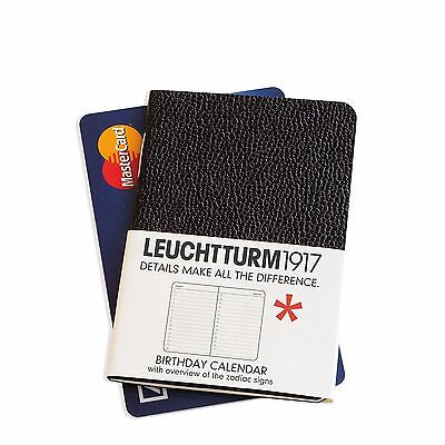 Leuchtturm1917 Mini Birthday Calendar (Credit Card Size)