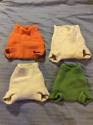 4x Disana Wool Nappy Wraps (used) 3-6 Months