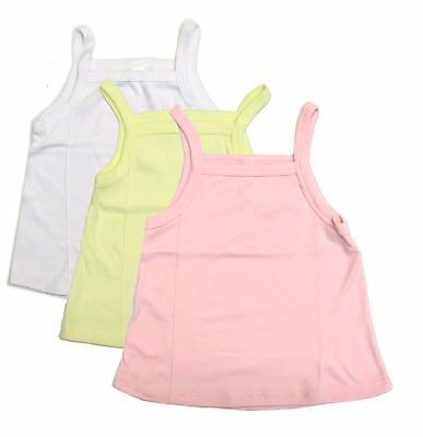 Underwear Undershirt Spaghetti Strap Girls Flare Tank Top 3-Pack Toddler Kids