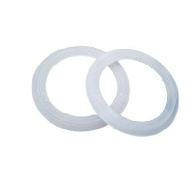 """5PCS 1.5"""" Sanitary Tri Clamp Silicone Gasket Fits 50.5mm Type Ferrule Flange TP"""