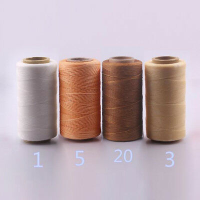250M 150D 1MM Waxed Wax Thread Cord Sewing Craft for DIY Leather Stitching TP