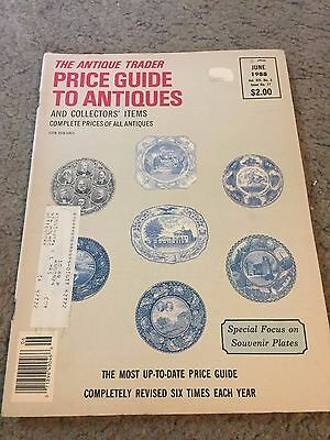The Antique Trader Price Guide To Antiques Fall 1988 Magazine Vol. XIX No. 3