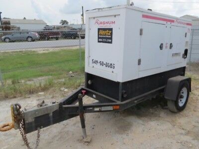 2010 Magnum MMG75 52kw Towable Diesel Generator .