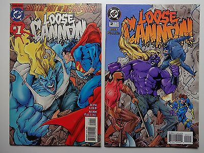 Loose Cannon   Lot of 3   (#1-3)   High Grade NM