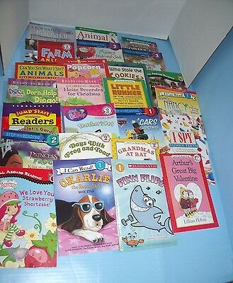 Lot Of 104 Children's Level 1-4 Readers Step Into Reading Scholastic I Can Read