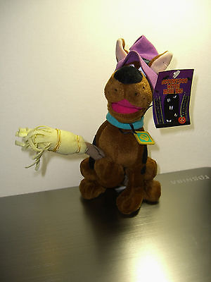 Warner Brothers 1999 Scooby-Doo Witch bean bag plush-New-w/tags-WB-Halloween