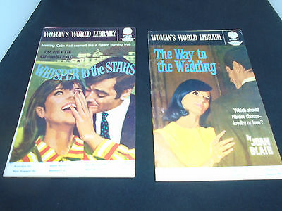 Woman's World Library 1960's Romance Lot Fleetway Library