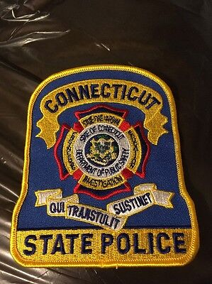 Connecticut State Police Fire Marshall Patch