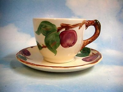Franciscan Apple (USA) Cup and Saucer Set (sets) HANDPAINTED