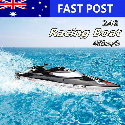 2.4GHZ 45km/h FT012 Upgraded High Speed Vitality Brushless Racing RC Boat Gifts