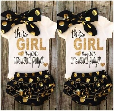 6-9 M Newborn Baby Girls Romper Bodysuit Polka Dot Sequin Shorts Clothes Outfits