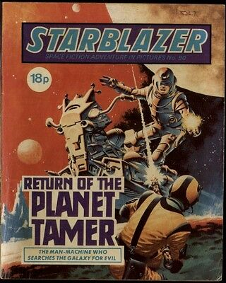 Return Of The Planet Tamer,starblazer Space Fiction Adventure In Pictures,no.90