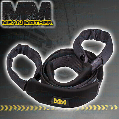 Mean Mother 12T 12 Tonne Winch Snatch Equaliser Strap Recovery 4Wd 4X4 Tow Tree