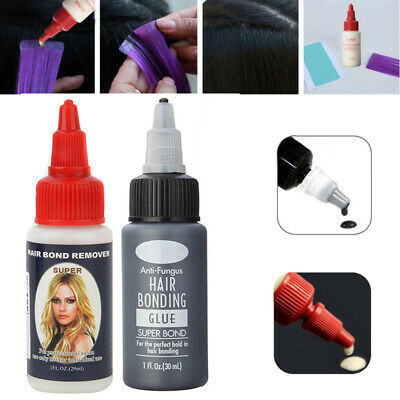 Hair Bonder Bonding Glue Remover Bondinglöser Entferner Lösemittel Extension