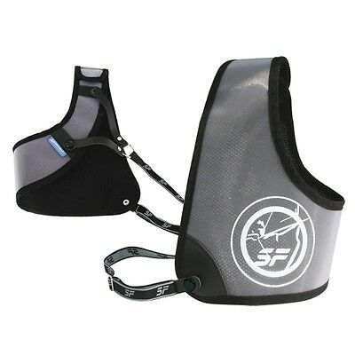 SF Elite Chest Guard For Archery Left Handed Small / Large - Black