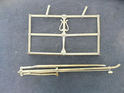Rare Old French Music Stand Made Around 1860!