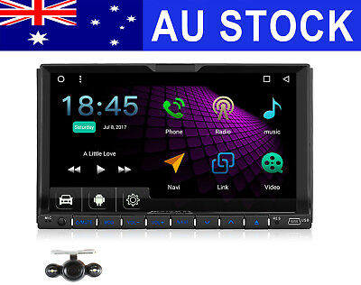"""7"""" 2 Din Android 6.0 Car Stereo DVD GPS OBD DAB+ Head unit Mirror-Link + Camera"""