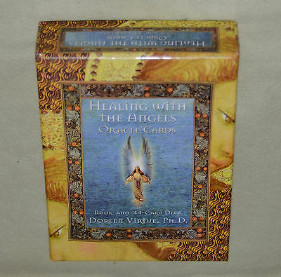 Healing With The Angels Oracle Cards ** 44 Card Deck w/ Guidebook **