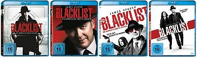 The Blacklist Staffel 1+2+3+4 (1-4) Blu-ray Set NEU OVP