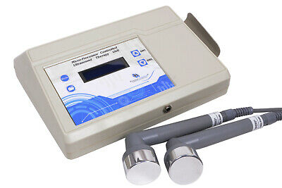 Ultrasound Therapeutic physical therapy 1&3 Mhz for pain relief with program