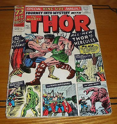 Thor Annual #1  72 pages. Marvel Comics 1965. 1st  Appearance of Hercules.