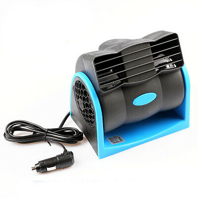 DC12V Portable Car Plug Silent Truck Vehicle Air Fan Cooler for SUV ATV