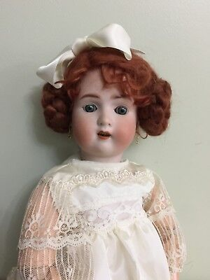 """Antique Doll ABG ' Sweet Nell ' Bisque On A Comp Body 17"""""""