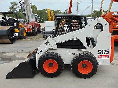 2010 Bobcat S-175 Wheel Loader - Brand New Tires Today - Low Hours - Serviced