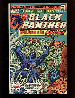 Jungle Action #18 VGFN Kirby Janson Graham Black Panther 1st Madam Slay & Mute