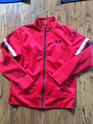 UNDER ARMOUR Light Jacket~size Youth Small YSM~Loose Fit Full Zipper