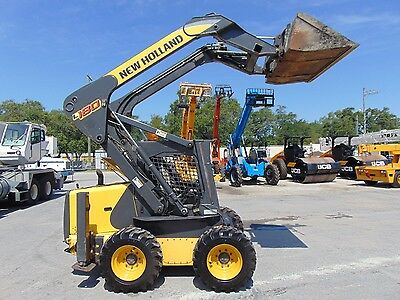 """2010 New Holland L-180 Turbo """"high Flow"""" 2 Speed Super Fast 12 Mph - New Tires"""