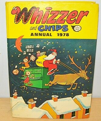 WHIZZER & CHIPS ANNUAL 1978 - good condition - Fleetway