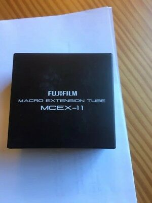 Fujifilm MCEX-11 Macro Extension Tube New
