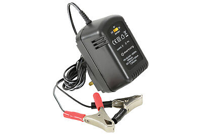 2/6/12V 600mA Lead Acid Battery Charger with 1.8M Flylead & Crocodile Clips