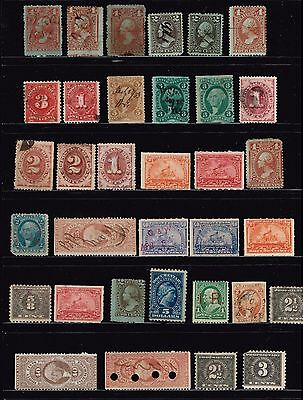 Usa Stamp  Revenue- Bob- Collection Stamps Lot